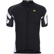 Alé Plus Cosmo Short Sleeve Jersey - Black