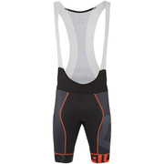 Alé PRR Mithos Bib Shorts - Black/Orange