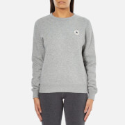 Converse Women's All Star Core Crew Sweatshirt - Vintage Grey Heather