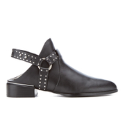 Senso Women's Danx I Leather Heeled Ankle Boots - Ebony