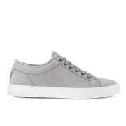 ETQ. Men's Low Top 1 Leather Trainers - Alloy