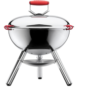 Bodum Fyrkat Charcoal BBQ Grill - Stainless Steel