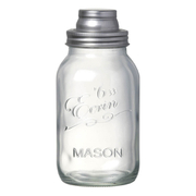 Parlane Mason Jar Cocktail Shaker - Clear