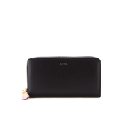 Paul Smith Accessories Women's Large Zip Around Wallet - Black