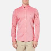 Polo Ralph Lauren Men's Long Sleeve Oxford Shirt - Red