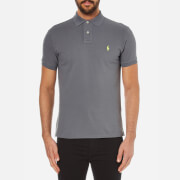 Polo Ralph Lauren Men's Custom Fit Polo Shirt - Marine Grey