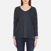 BOSS Orange Women's Tareverse Sweatshirt - Dark Blue