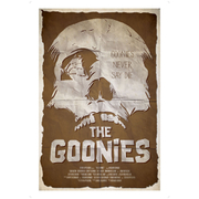 The Goonies Inspired Illustrative Art Print - 11.7 x 16.5 Inches