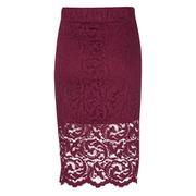 Samsoe & Samsoe Women's Alia Skirt - Beet Red