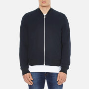 PS by Paul Smith Men's Textured Bomber Jacket - Navy