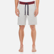 Tommy Hilfiger Men's Colour Blocking Fleece Shorts - Grey Heather