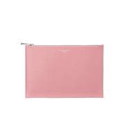 Aspinal of London Women's Essential Large Flat Pouch - Dusky Pink/Rose Dust