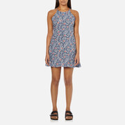 Superdry Women's Essential Frippy Mini Cami Dress - Chinz Paisley
