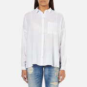 Superdry Women's Santorini Boyfriend Shirt - Optic White