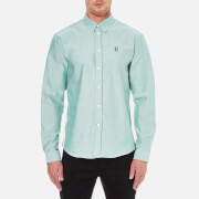 Carven Men's Long Sleeve Shirt - Vert
