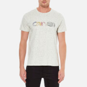 Carven Men's Printed T-Shirt - Ecru