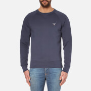 GANT Men's Original Crew Neck Sweatshirt - Marine