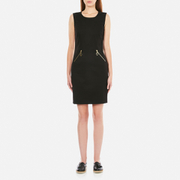 Love Moschino Women's Zip Dress - Black