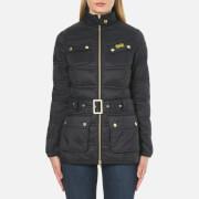 Barbour International Women's Pannier Baffle Quilt Jacket - Black