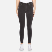 Cheap Monday Women's High Spray Jeans - Od Grey