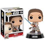 Star Wars: The Force Awakens Rey with Lightsaber Funko Pop! Figur