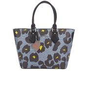 Vivienne Westwood Leopardmania Women's Shopper Bag - Grey