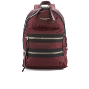 Marc Jacobs Women's Nylon Biker Mini Backpack - Rubino