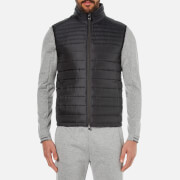 BOSS Green Men's Veon Padded Gilet - Black