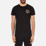 Versace Jeans Men's Small Print T-Shirt - Black