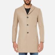 J.Lindeberg Men's Wolger Compact Melton Jacket - Stone
