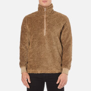 A Kind of Guise Men's Mani Zip Pullover Jumper - Camel