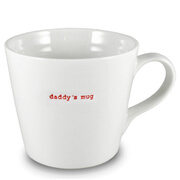 Keith Brymer Jones Daddy's Large Bucket Mug - White