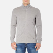 BOSS Orange Men's Zissou Zipped Sweatshirt - Grey