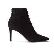 Kendall + Kylie Women's Liza Valeria Elastic Heeled Ankle Boots - Black