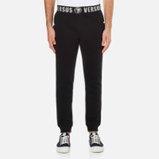 Versus Versace Men's Waist Detail Jogging Pants - Black