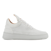 Filling Pieces Women's Monotone Stripe Low Top Trainers - Grey