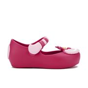 Mini Melissa Toddlers' Mini Alice Ultragirl Flats - Pink Cheshire