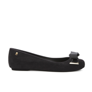 Melissa Women's Space Love 16 Ballet Flats - Black Flock