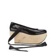 Vivienne Westwood for Melissa Women's Rocking Horse Platform Shoes - Black