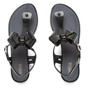 Melissa Women's Solar Bow Sandals - Black