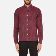 Oliver Spencer Men's Eton Collar Shirt - Liscard Red