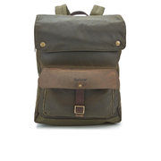 Barbour Men's Wax Urban Backpack - Olive