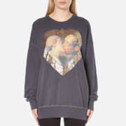 Vivienne Westwood Anglomania Women's Hercules Kiss Gusset Sweater - Grey