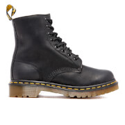 Dr. Martens Women's Serena Burnished Wyoming 8-Eye Boots - Black