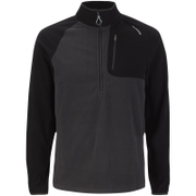 Craghoppers Men's Salisbury Half Zip Fleece - Black Pepper