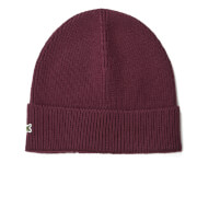 Lacoste Men's Ribbed Beanie Hat - Vendange