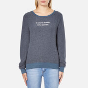 Wildfox Women's Downie Baggy Beach Sweatshirt - After Midnight Blue
