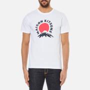 Maison Kitsuné Men's Mont Fuji T-Shirt - White
