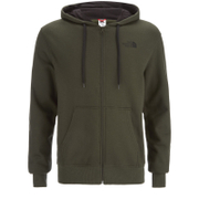 The North Face Men's Open Gate Full Zip Hoody - Rosin Green