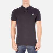 Superdry Men's Classic Pique Short Sleeve Polo Shirt - Eclipse Navy